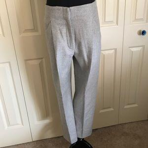 Aritzia Wilfred cropped grey wool pants S NWOT